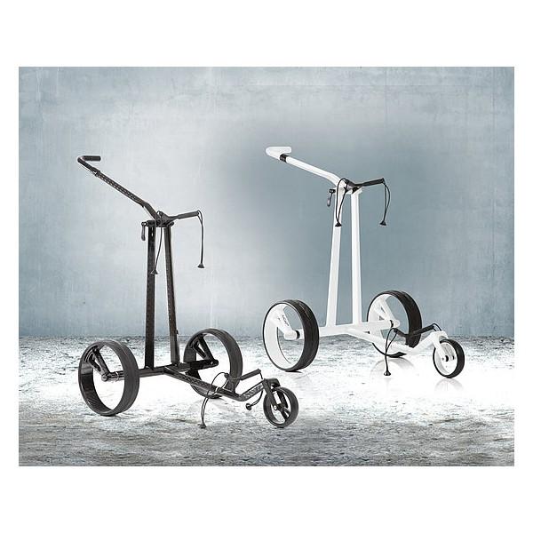 chariot de golf lectrique carbone phantom jucad. Black Bedroom Furniture Sets. Home Design Ideas