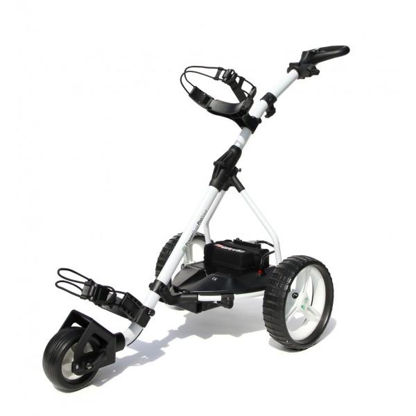 chariot de golf lectrique infinity lithium powerbug. Black Bedroom Furniture Sets. Home Design Ideas