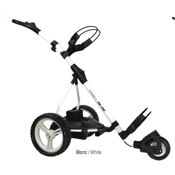 chariot de golf lectrique infinity lithium mini batterie powerbug. Black Bedroom Furniture Sets. Home Design Ideas