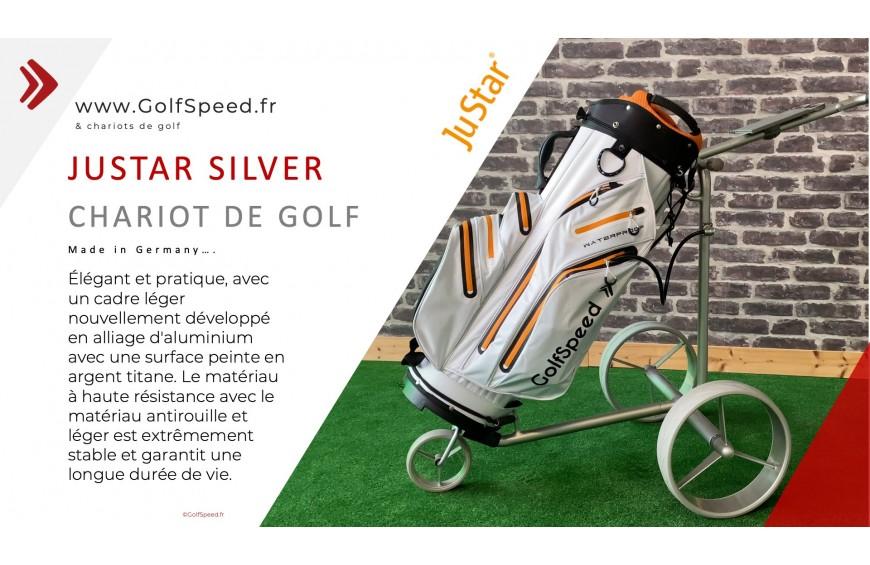 Le chariot de golf Justar Silver en vidéo