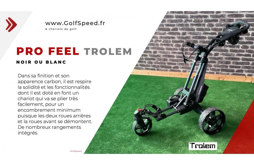 Chariot de golf PRO FEEL télécommandé Trolem