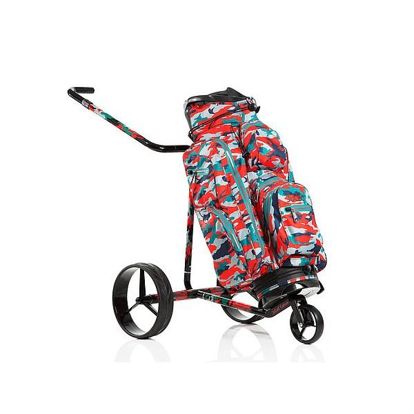 chariot de golf lectrique carbone travel jucad. Black Bedroom Furniture Sets. Home Design Ideas