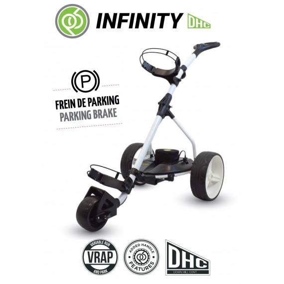 Chariot de golf électrique Pro tour P6 lithium Mini Batterie - Powerbug