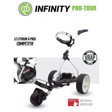 Chariot de golf électrique INFINITY PRO TOUR - Powerbug