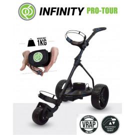 Chariot de golf électrique INFINITY PRO TOUR Mini Batterie - Powerbug