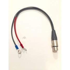 Cable batterie pour chariot de golf X5 et X7 - GolfSpeed
