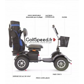 Voiturette de golf GS-03 - GolfSpeed