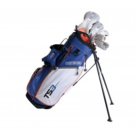 "Pack Junior Tour Series Graphite, sac + club taille 51"" (126 - 134 cm) - US Kids Golf"