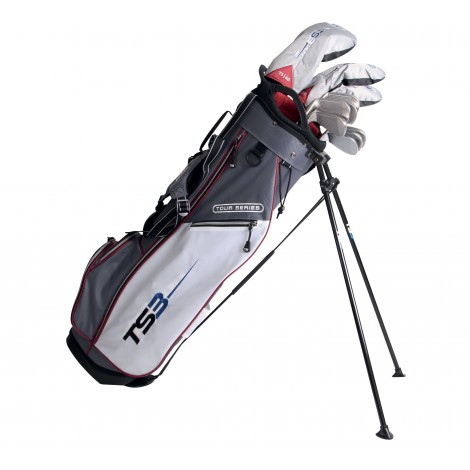 "Pack Junior Tour Series Graphite, sac + club taille 60"" (150 - 157cm) - US Kids Golf"