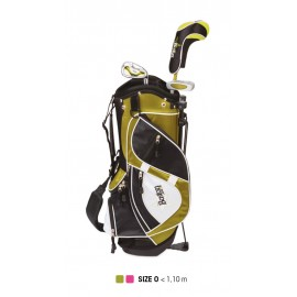 Pack Junior Classic, Sac + Clubs Taille 0 (3 - 5 ans), Gaucher - BOSTON
