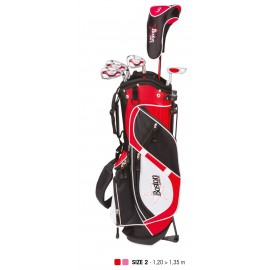 Pack Junior Classic, Sac + Clubs Taille 2 (8 - 10 ans), Gaucher - BOSTON