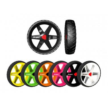 Kit de 3 roues (avant/arrière) pour chariot de golf - Clicgear