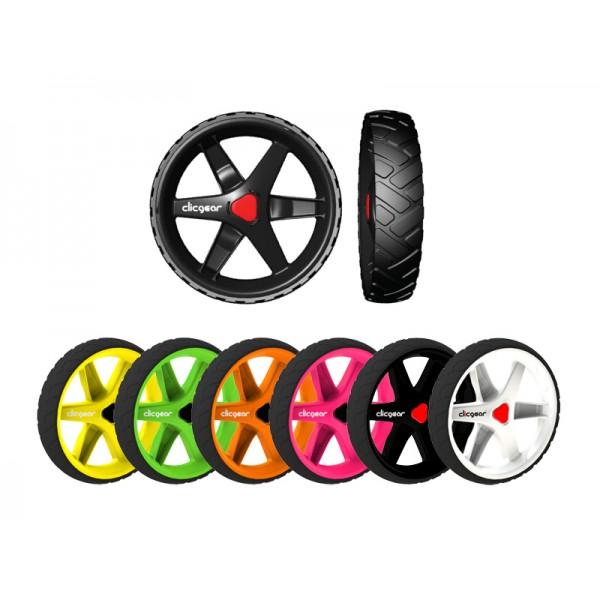 kit de 3 roues avant arri re pour chariot de golf clicgear. Black Bedroom Furniture Sets. Home Design Ideas