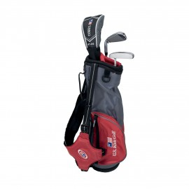 Pack Junior Ultralight, Sac + Clubs Taille 39 (96-103 cm) - US Kids Golf