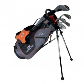 Pack Junior Ultralight, Sac + Clubs Taille 51 (126- 134 cm) - US Kids Golf