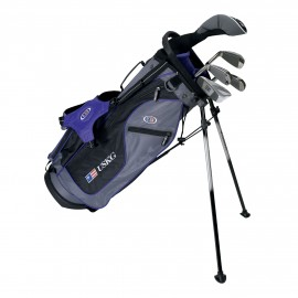 Pack Junior Ultralight, Sac + Clubs Taille 54 (135-141 cm) - US Kids Golf