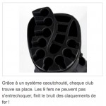 Sac de golf Manager dry - Jucad