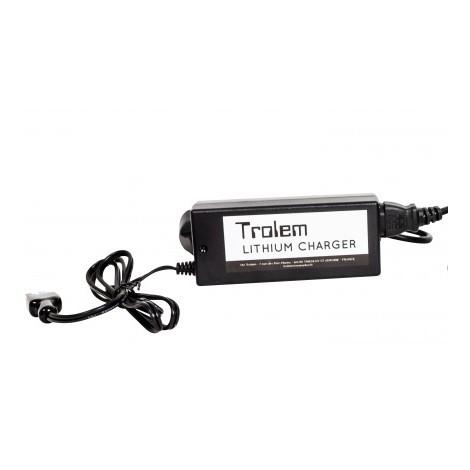 TROLEM - Chargeur pour Batterie TROLEM Lithium 16Ah/20Ah et 24Ah Trolem