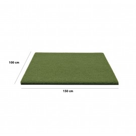 Tapis de practice haut de gamme 150cm x 100cm pour simulateur
