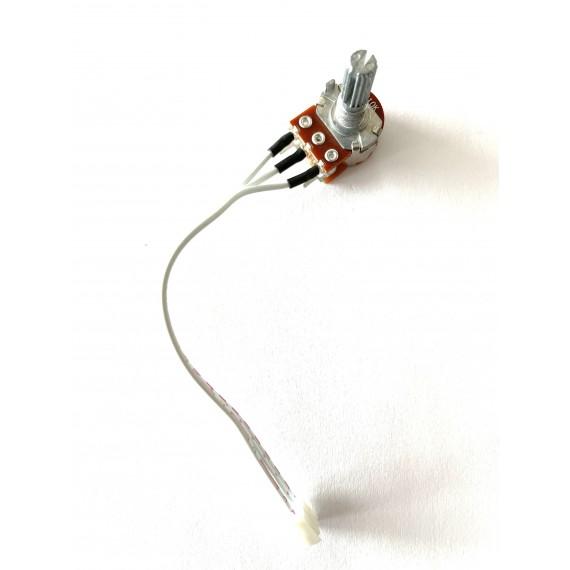 Potentiomètre électronique  et bouton pour chariot X2 GolfSpeed