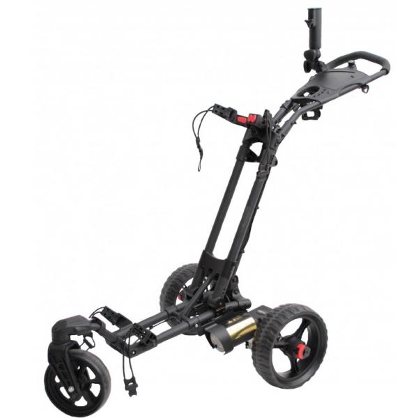 chariot de golf lectrique t litech compact 360 trolem. Black Bedroom Furniture Sets. Home Design Ideas
