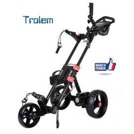 Chariot de golf  T4 Fold CARBONE 2RE (frein électronique)