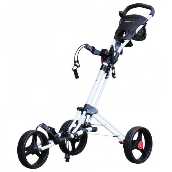 chariot de golf 3 roues one lock trolem. Black Bedroom Furniture Sets. Home Design Ideas