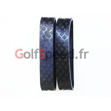 Bandes de roulement X2 (sans jante) en caoutchouc (paire) - GolfSpeed