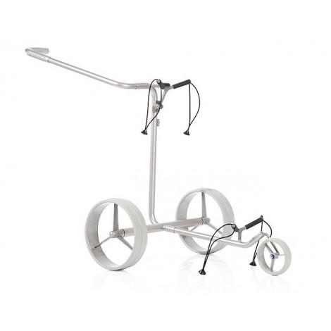 Chariot de golf électrique Acier Inox Classic - JuStar