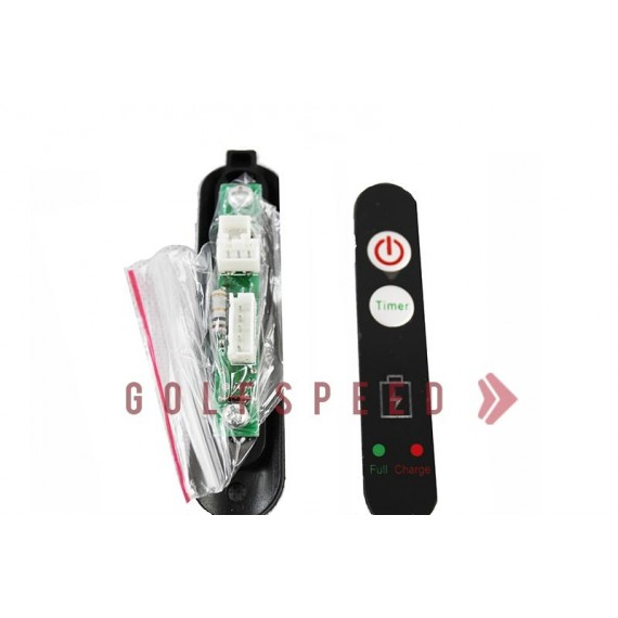 Commandes manuelles ON/OFF + timer pour chariot X2 - GolfSpeed
