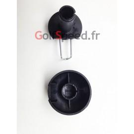 Clip de fixation + cache pour roue de chariot de golf X2 - GolfSpeed