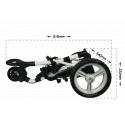 Chariot de golf électrique Pro tour P6 lithium - Powerbug